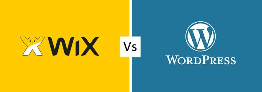 wix versus wordpress